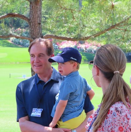 Jameson Nantz is the youngest son of the JIm Nantz family.